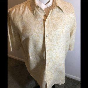 Pusser's West Indies Men's Linen Shirt, size XL
